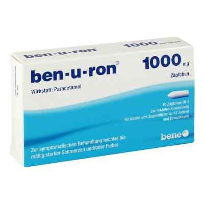 Ben U Ron 1000 mg Erw.-suppos.