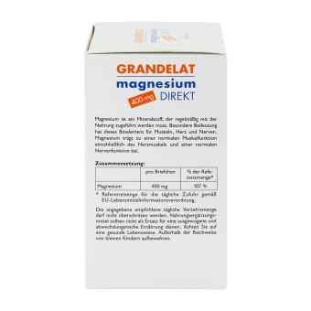 Magnesium Direkt 400 mg Grandelat proszek w saszetkach  zamów na apo-discounter.pl