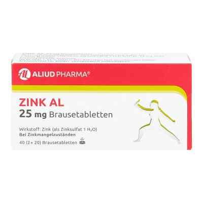 Zink Al 25 mg Brausetabl.  zamów na apo-discounter.pl