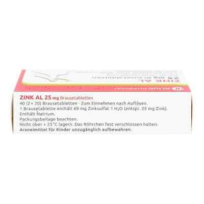 Zink Al 25 mg Brausetabl.