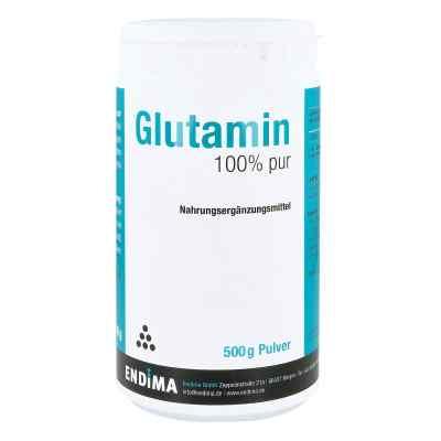 Glutamin 100% Pur proszek  zamów na apo-discounter.pl