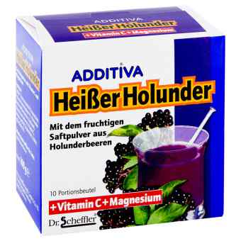 Additiva napój z czarnym bzem na przeziębienie - saszetki