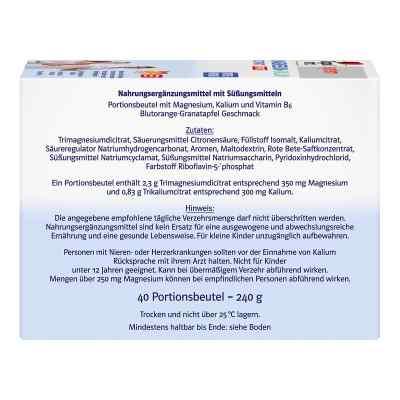 Doppelherz System Magnez+Potas (cytrynian) w saszetkach  zamów na apo-discounter.pl