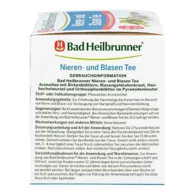 Bad Heilbrunner Tee na zapalenie pęcherza  zamów na apo-discounter.pl