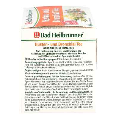 Bad Heilbrunner Tee Husten-bronchial Btl.  zamów na apo-discounter.pl