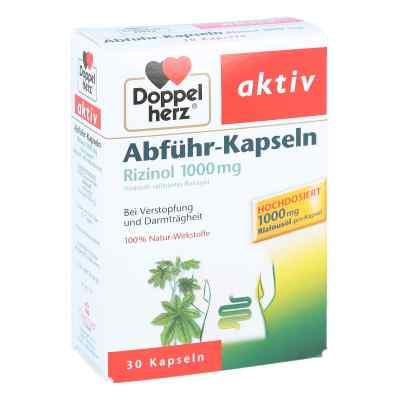 Doppelherz na zaparcia, 1000mg oleju rycynowego  zamów na apo-discounter.pl