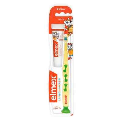 Elmex Lern szczoteczka do zębów dla niemowląt