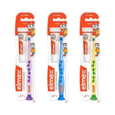 Elmex Lern szczoteczka do zębów dla niemowląt  zamów na apo-discounter.pl