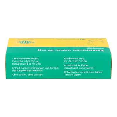 Zinkbrause Verla 25 mg Brausetabl.  zamów na apo-discounter.pl