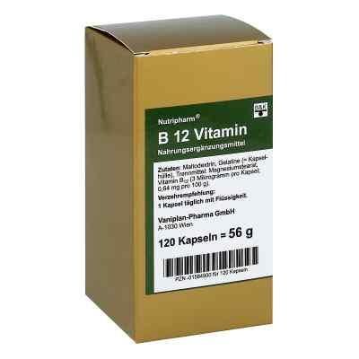Witamina B12 Nutripharm kapsułki  zamów na apo-discounter.pl