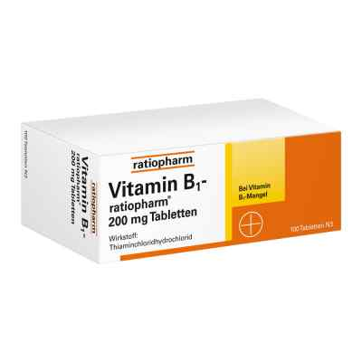 Vitamin B 1 ratiopharm 200 mg Tabl.