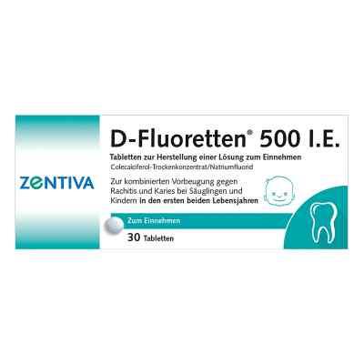 D-fluoretten 500 Tabl.