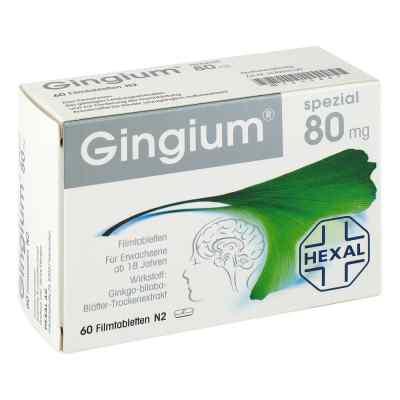 Gingium spezial 80 Filmtabl.  zamów na apo-discounter.pl