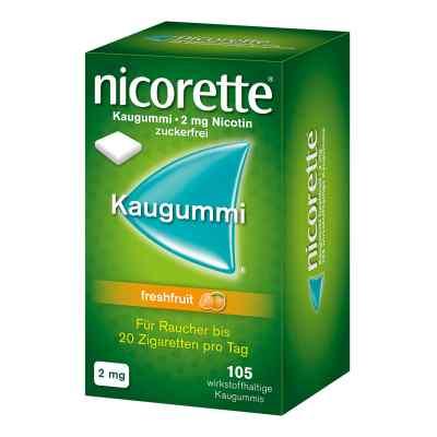 Nicorette 2 mg Freshfruit Kaugummi  zamów na apo-discounter.pl