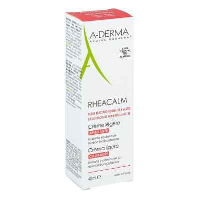 A-Derma Rheacalm kojący krem do skóry normalnej i mieszanej  zamów na apo-discounter.pl