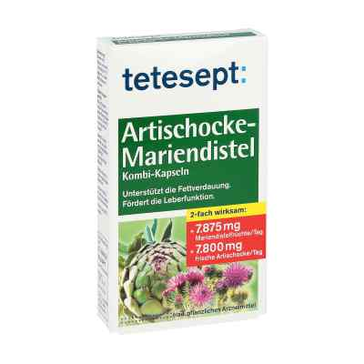Tetesept Ostropest  + Karczoch kapsułki   zamów na apo-discounter.pl