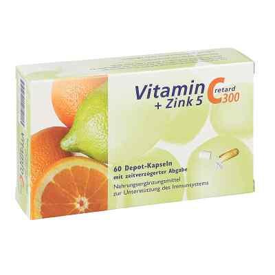 Vitamin C 300 + Cynk 5 retard kapsułki  zamów na apo-discounter.pl