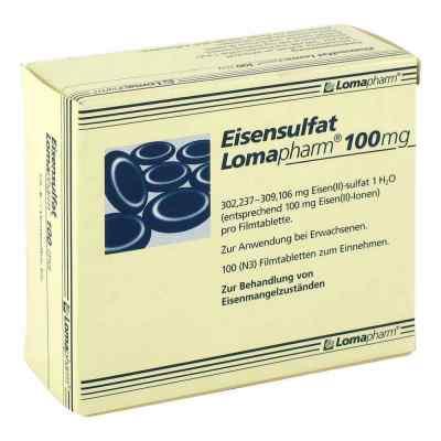 Eisensulfat Lomapharm 100 mg Filmtabl.
