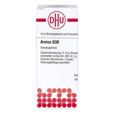 Arnica D 30 granulki  zamów na apo-discounter.pl