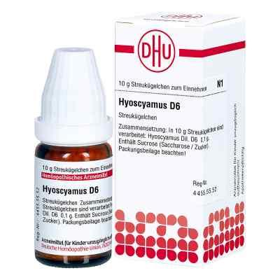 Hyoscyamus D 6 Globuli  zamów na apo-discounter.pl