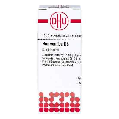 Nux Vomica D 6 Globuli  zamów na apo-discounter.pl