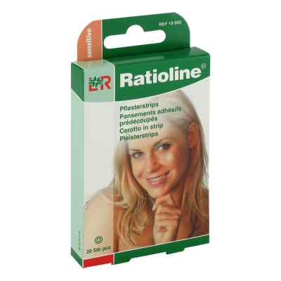 Ratioline sensitive Pflasterstrips rund  zamów na apo-discounter.pl