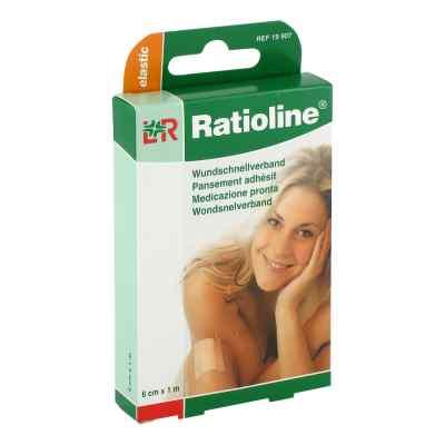 Ratioline elastic 6cmx1m łatwy opatrunek na rany  zamów na apo-discounter.pl