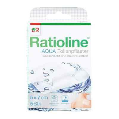 Ratioline aqua 5x7cm plaster pod prysznic  zamów na apo-discounter.pl