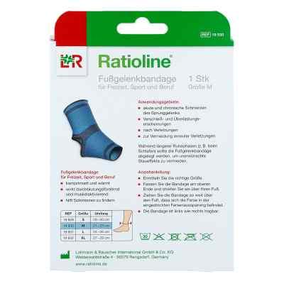 Ratioline active Fussgelenkbandage M  zamów na apo-discounter.pl