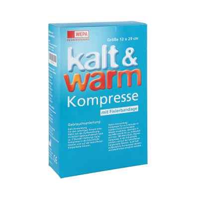 Kalt-warm Kompresse 12x29cm mit Fixierband  zamów na apo-discounter.pl