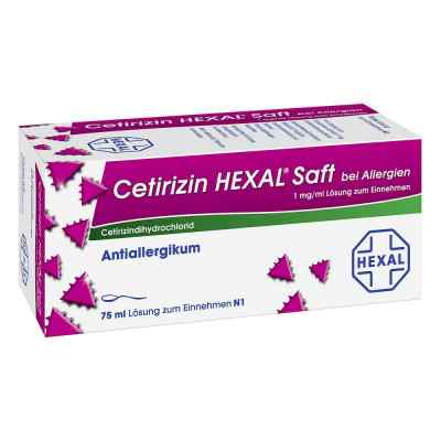 Cetirizin Hexal Saft b. Allergien  zamów na apo-discounter.pl