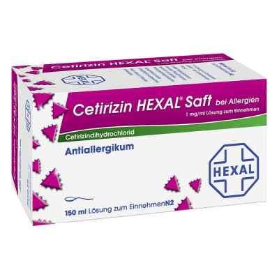 Cetirizin Hexal Saft b. Allergien