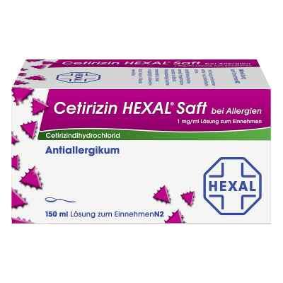 Cetirizin Hexal syrop antyalergiczny  zamów na apo-discounter.pl