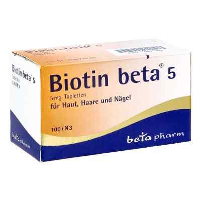 Biotin Beta 5 Tabl.  zamów na apo-discounter.pl