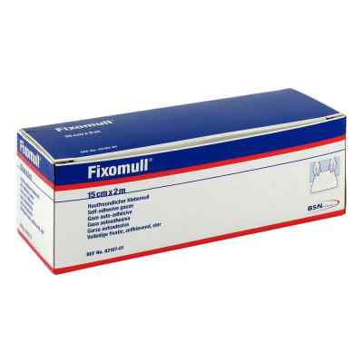 Fixomull 2mx15cm gaza samoklejąca  zamów na apo-discounter.pl