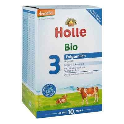 Holle Bio mleko dla niemowląt 3  zamów na apo-discounter.pl