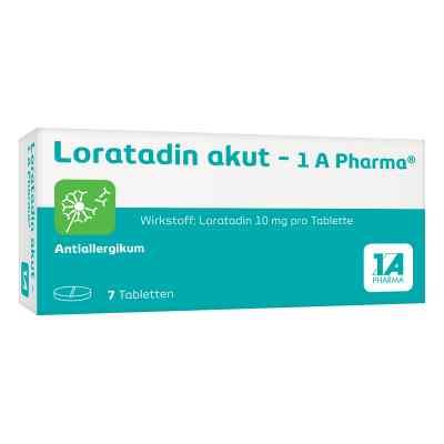 Loratadin akut 1a Pharma Tabl.  zamów na apo-discounter.pl