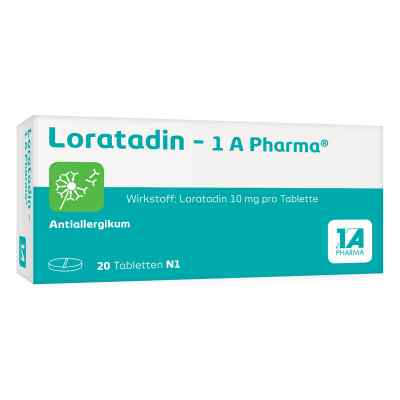 Loratadin 1a Pharma Tabl.  zamów na apo-discounter.pl