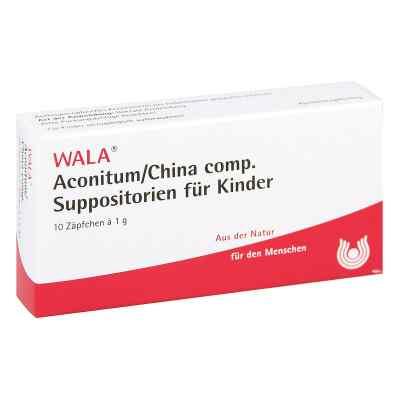 Wala Aconitum/china comp. czopki dla dzieci  zamów na apo-discounter.pl