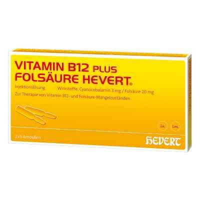Vitamin B 12 Folsaeure Hevert Amp.-paare