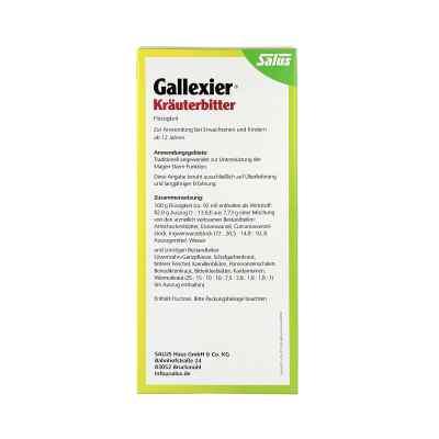 Salus Gallexier Preparat ziołowy