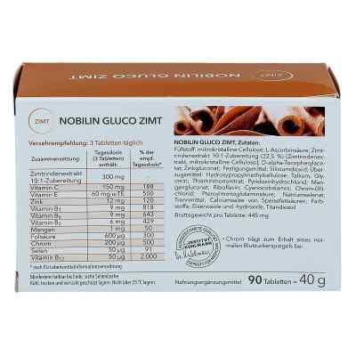 Nobilin Gluco Zimt tabletki  zamów na apo-discounter.pl
