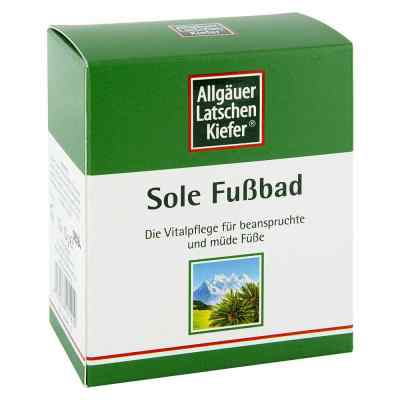 Allgaeuer Latschenk. sól do kąpieli stóp  zamów na apo-discounter.pl