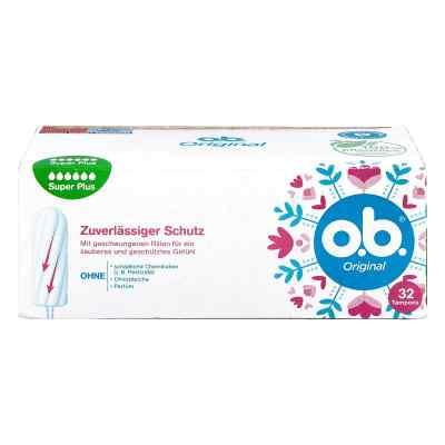 O.b. Tampons super plus  zamów na apo-discounter.pl