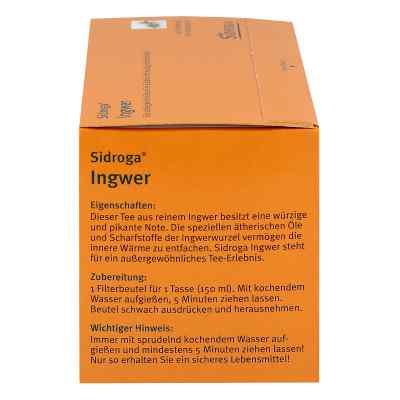 Sidroga Ingwer Filterbtl.  zamów na apo-discounter.pl