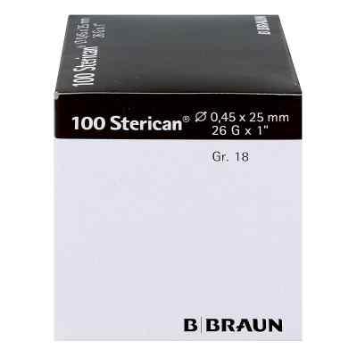 Sterican Kan.luer-lok 045x25mm igła roz. 18 brązowa  zamów na apo-discounter.pl