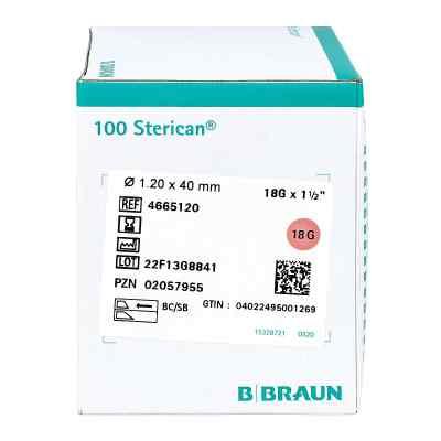 Sterican Kanuelen 18gx1 1/2 1,2x40 mm  zamów na apo-discounter.pl