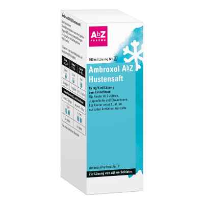 Ambroxol Abz Hustensaft 15mg/5ml Lsg.z.einn.