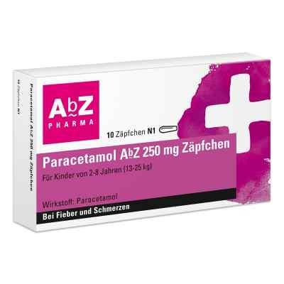 Paracetamol Abz 250 mg Zaepfchen