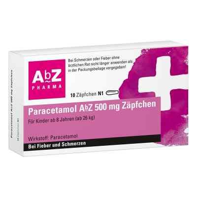 Paracetamol Abz 500 mg Zaepfchen